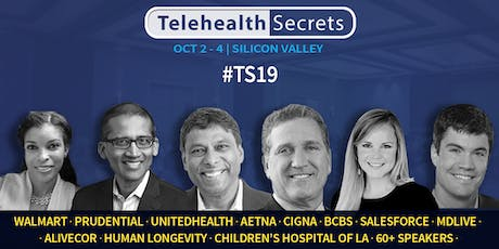 Telehealth Secrets 2019 tickets