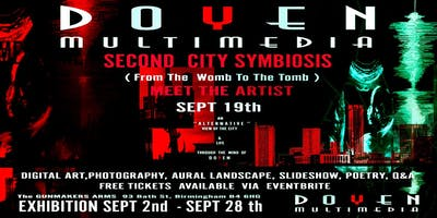 Second city symbiosis by Doyen. A meet the artist event