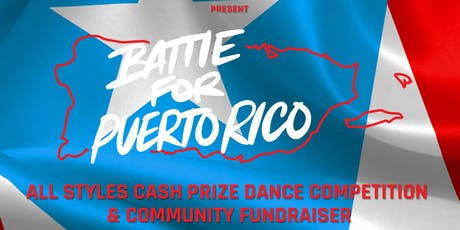 BATTLE FOR PUERTO RICO tickets