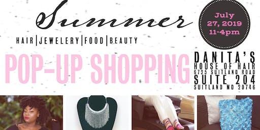 Summer Pop-Up Shopping Fair