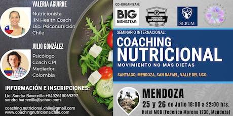 Mendoza / Seminario Intensivo: Coaching Nutricional - Movimiento: no más dietas entradas