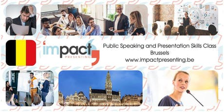 1-Day Brussels IMPACT Presenting - Public Speaking and Business Presentations Seminar tickets