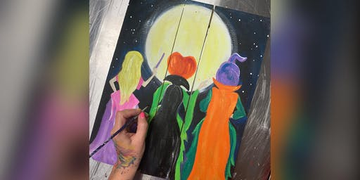3 Witches: Glen Burnie, Sidelines with Artist Katie Detrich!
