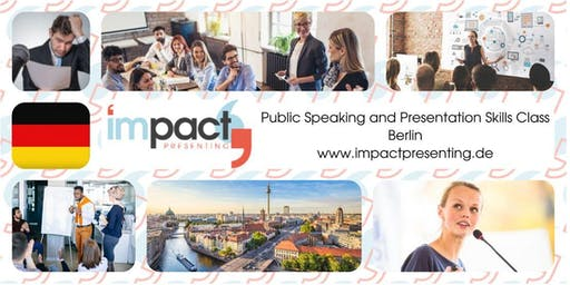 2-Day Berlin IMPACT Presenting - Public Speaking and Business Presentations Seminar