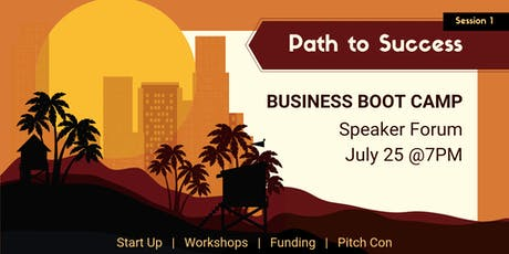 TJCCLA Business Boot Camp Session 1: Path to Success tickets