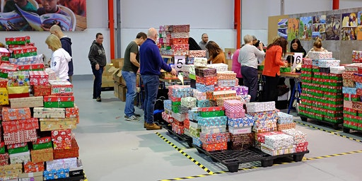 Operation Christmas Child - West Midlands Processing Centre