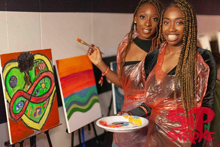 Sip 'N Stroke | Goes Birmingham | Neo-Soul Special | Paint Party image