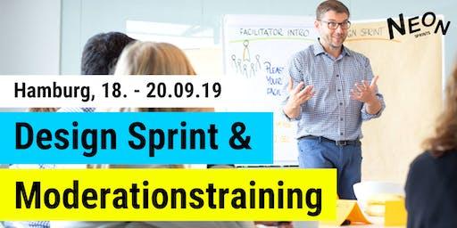 NEON Sprints Design Sprint & Moderationstraining Hamburg (2,5 Tage/Deutsch)