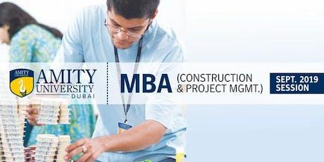 Amity University Dubai Admissions Day 2019 tickets