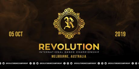 Revolution International Dance Championship 2019 tickets