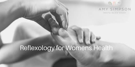 Reflexology for Women's Health tickets