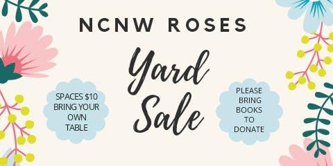 NCNW ROSES Yard Sale