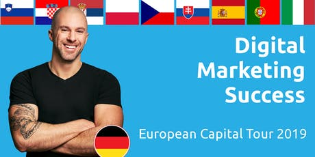 Digital Marketing Success - European Capital Tour 2019 (Czech Republic) Tickets