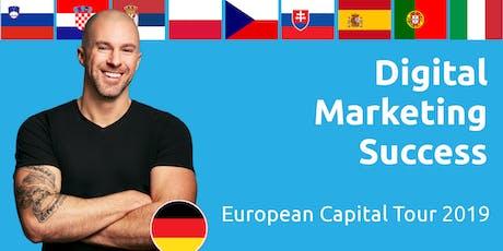 Digital Marketing Success - European Capital Tour 2019 (Czech Republic) tickets
