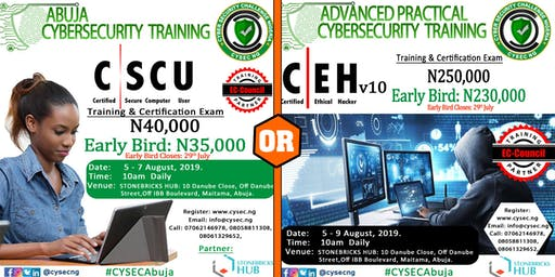Certified Ethical Hacker (CEHv10) & Secure Computer User (CSCU) Training