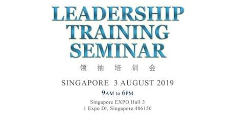 REGIONAL LEADERSHIP SEMINAR (Singapore) 3 AUGUST 2019 tickets