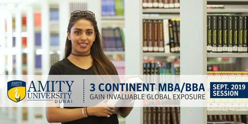 Amity University Dubai Admissions Day 2019