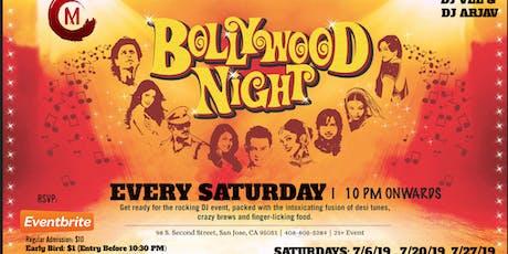 July Bollywood Saturday Nights  tickets