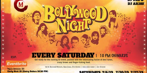 July Bollywood Saturday Nights