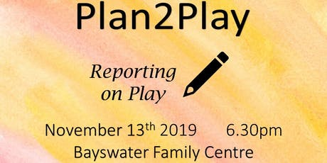 Plan2Play Reporting on Play tickets
