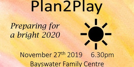 Plan2Play Preparing for a Bright 2020 tickets