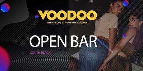 Open Bar on Ocean Drive tickets
