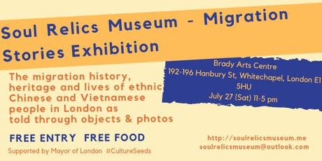 Soul Relics Museum - Migration stories from Southeast Asia tickets