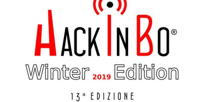 """HackInBo - Sicurezza all'ombra delle Torri"" Winter Edition 2019"