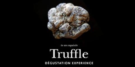 Truffle Degustation experience tickets