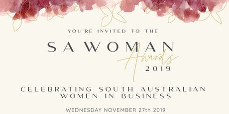 SA Woman Awards Dinner 2019 tickets