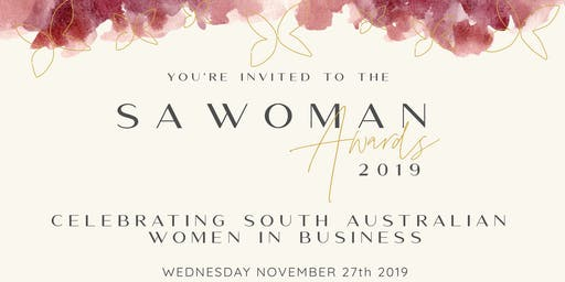 SA Woman Awards Dinner 2019
