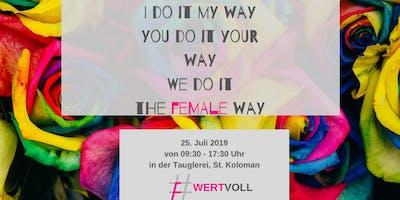 Wert(e)voll - The Female Way