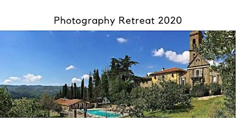 Photography Castle Retreat Tuscany 2020 tickets