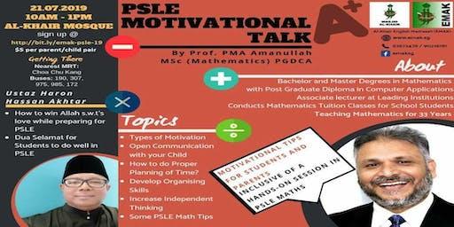 PSLE Motivational Talk