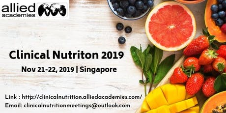 17th International Conference on Clinical Nutrition and Fitness, tickets