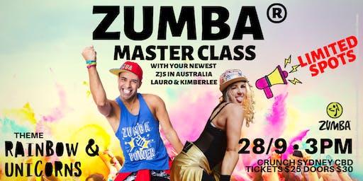 Zumba Master Class ZJs Kimberlee and Lauro (Sydney)