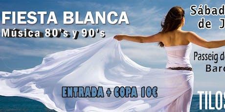 Fiesta Blanca 80s y 90s en Los Tilos entradas