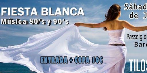Fiesta Blanca 80s y 90s en Los Tilos