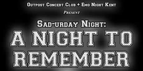 Emo Night Kent: A Night To Remember tickets