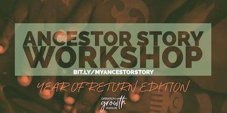 My Ancestor Story Online Workshop tickets