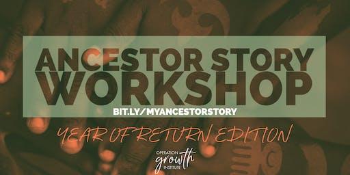 My Ancestor Story Online Workshop