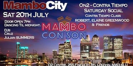 Mambo Con Son Saturday Social  tickets