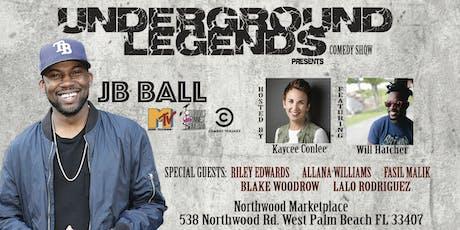 Underground Legends Comedy presents JB Ball tickets