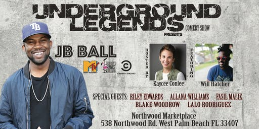 Underground Legends Comedy presents JB Ball