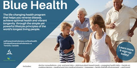 The Blue Health Program - North York tickets
