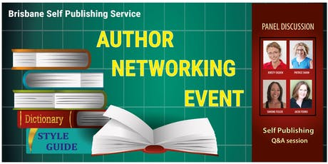 Author Networking Event – hosted by Brisbane Self Publishing Service tickets