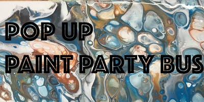 Pop Up Paint Party with Hugatrie (Fluid Art Painting Teacher)