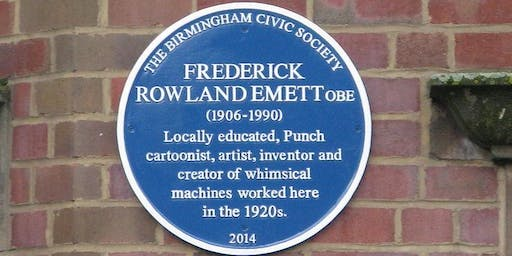 'Blue plaques of the Jewellery Quarter' tour