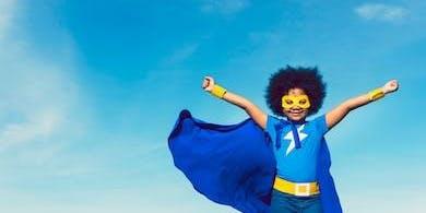 Camp Pan Afrikan: Superheroes!