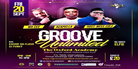 Groove Unlimited tickets